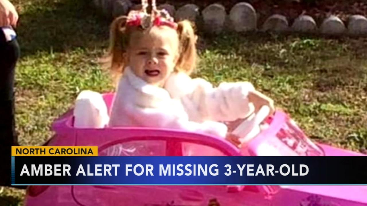 Search continues for missing North Carolina 3-year-old