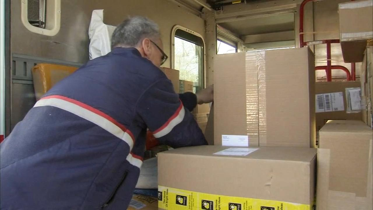 Holiday crunch begins for delivery services