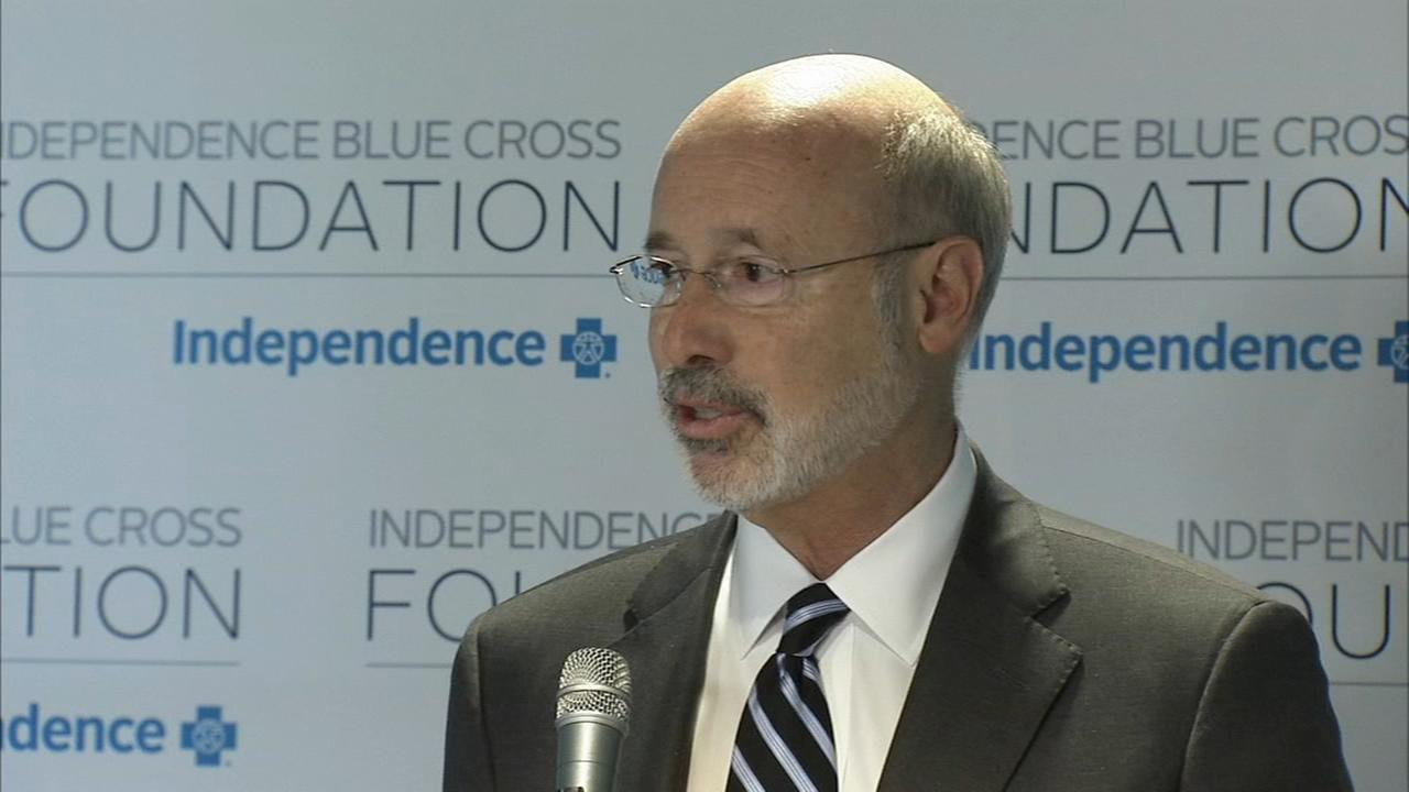 Gov. Tom Wolf highlights states progress on opioid epidemic