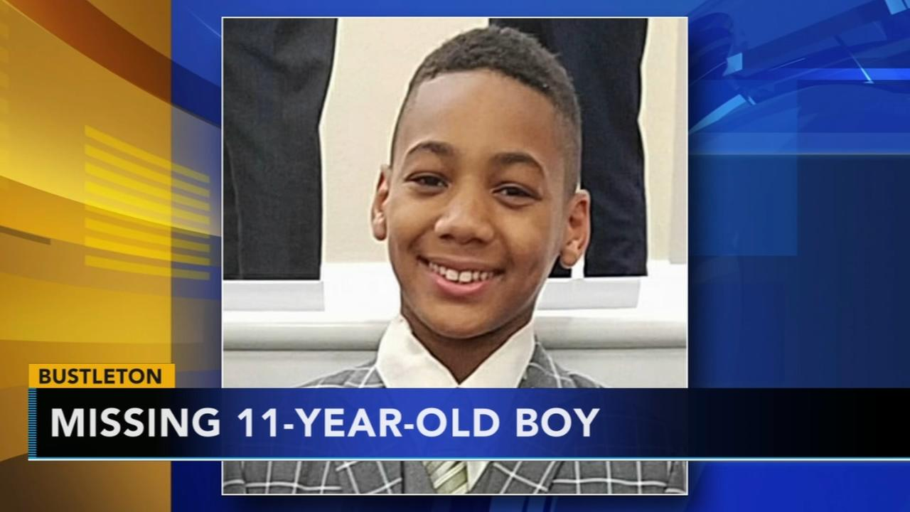 Search for missing 11-year-old boy from Bustleton