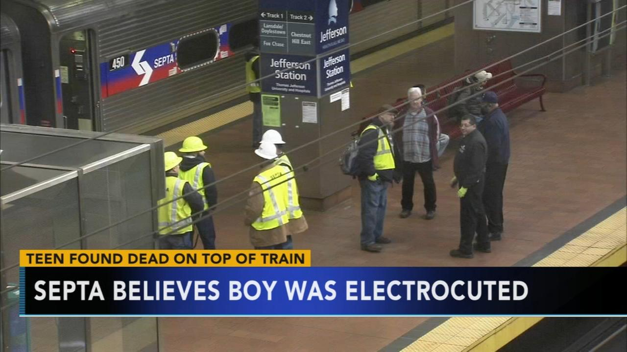 SEPTA: Teen found dead on SEPTA train likely electrocuted