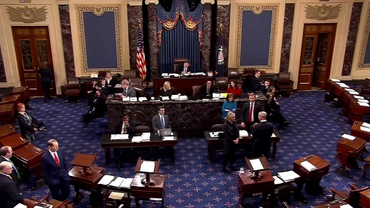 Senate OKs tax bill as Trump, GOP near big legislative win