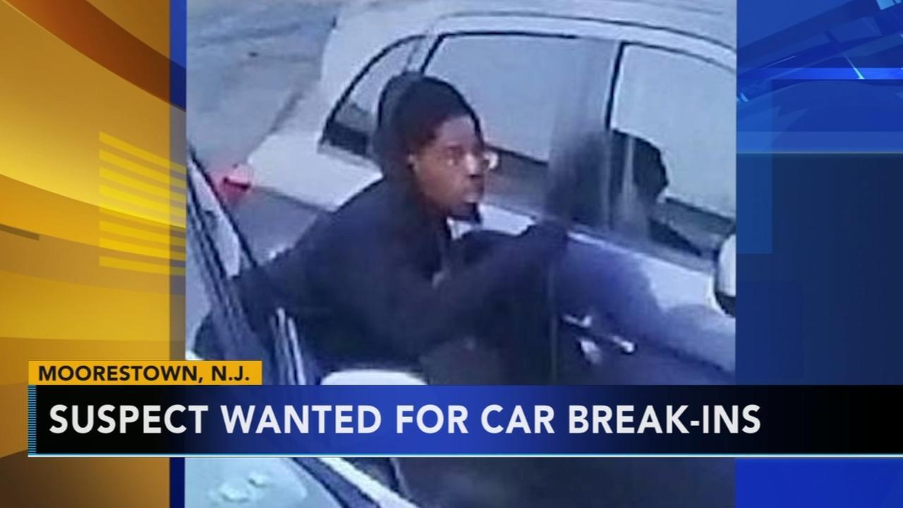 Suspect sought in break-ins