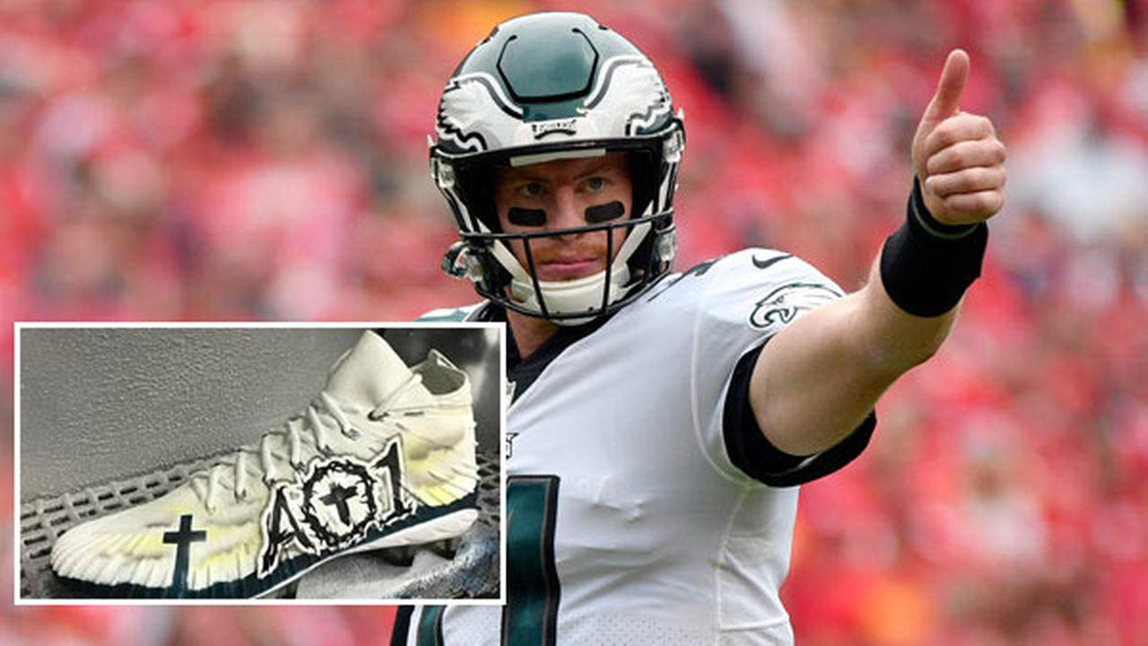 Donate to Carson Wentz's foundation, get chance to win his cleats