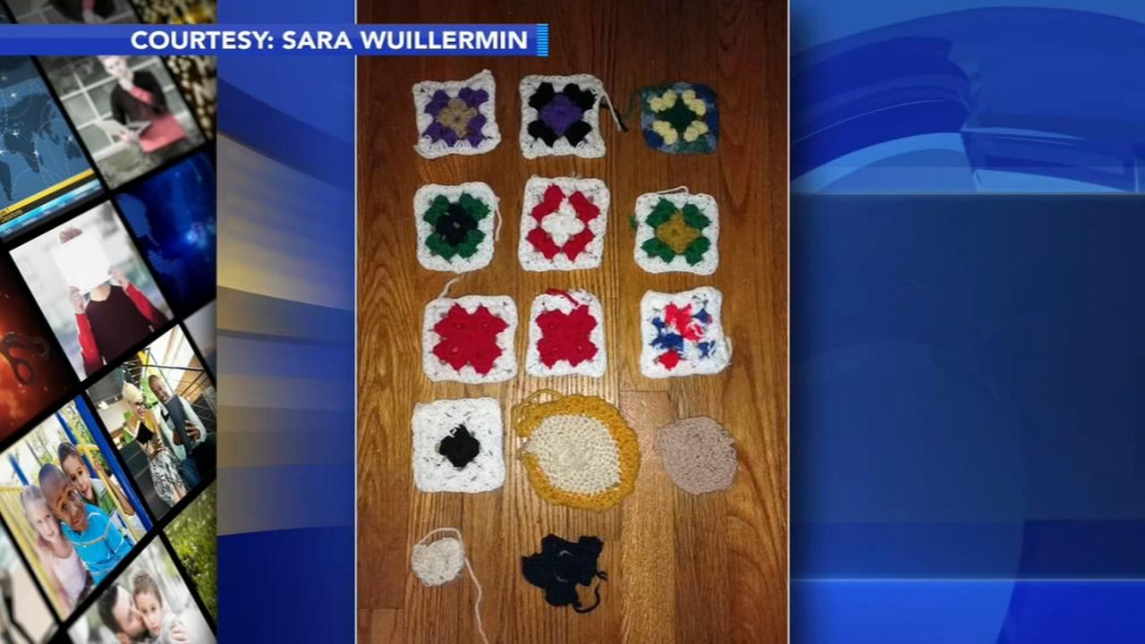 VIDEO: Crochet photo captures progression of Alzheimers