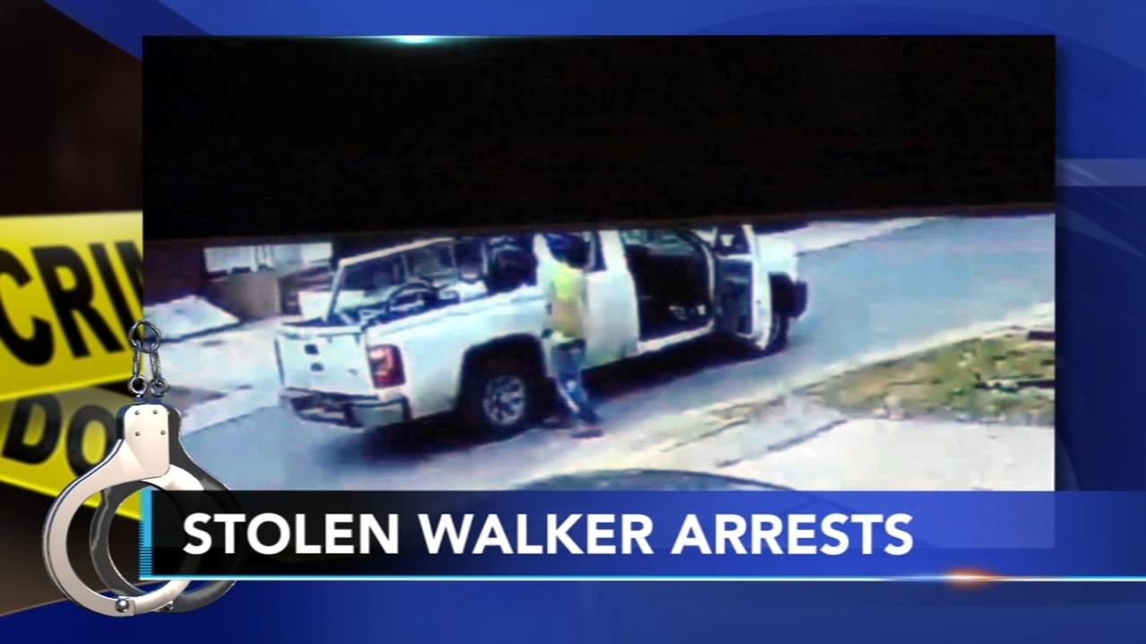 2 men arrested after walker stolen from girl with cerebral palsy