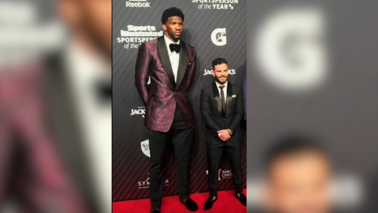 Joel Embiid, Jose Altuve size difference goes viral