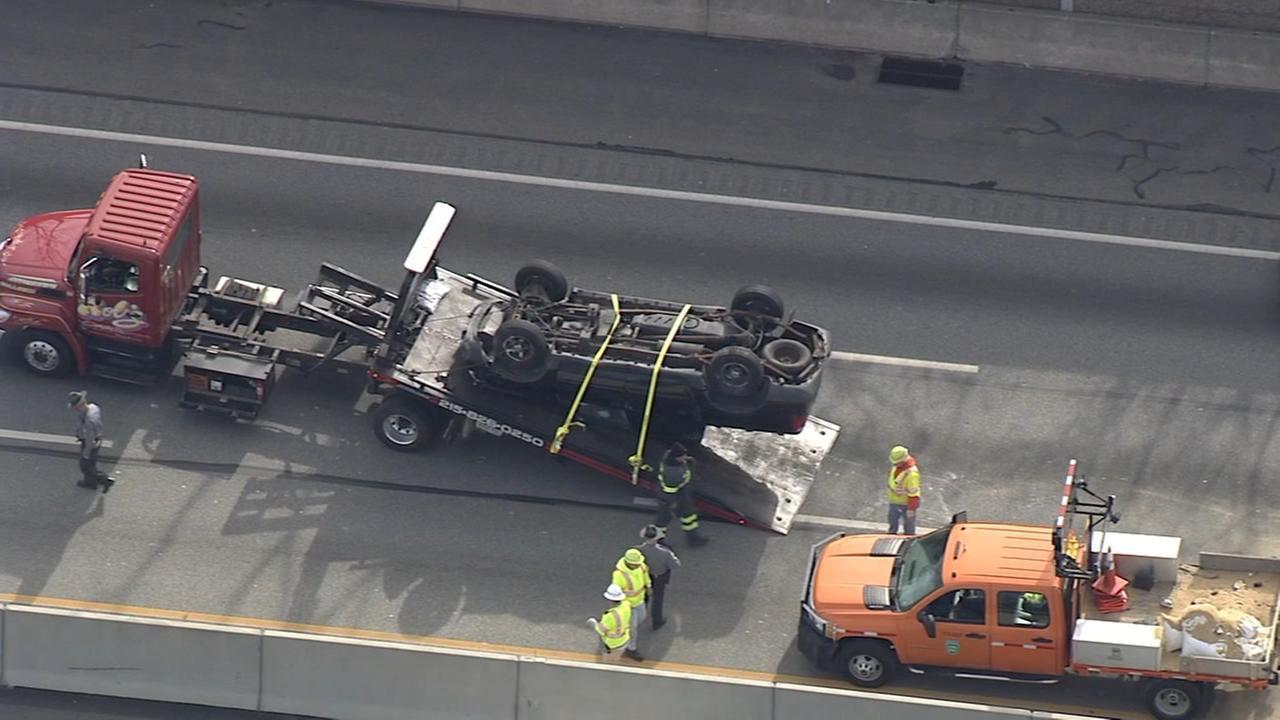 RAW VIDEO: Crash on Pennsylvania Turnpike