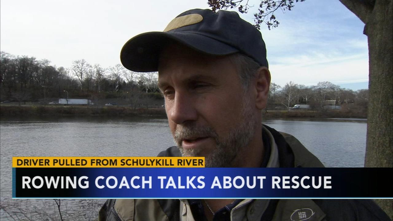 Coach reflects on rescue by rowers in Schuylkill River