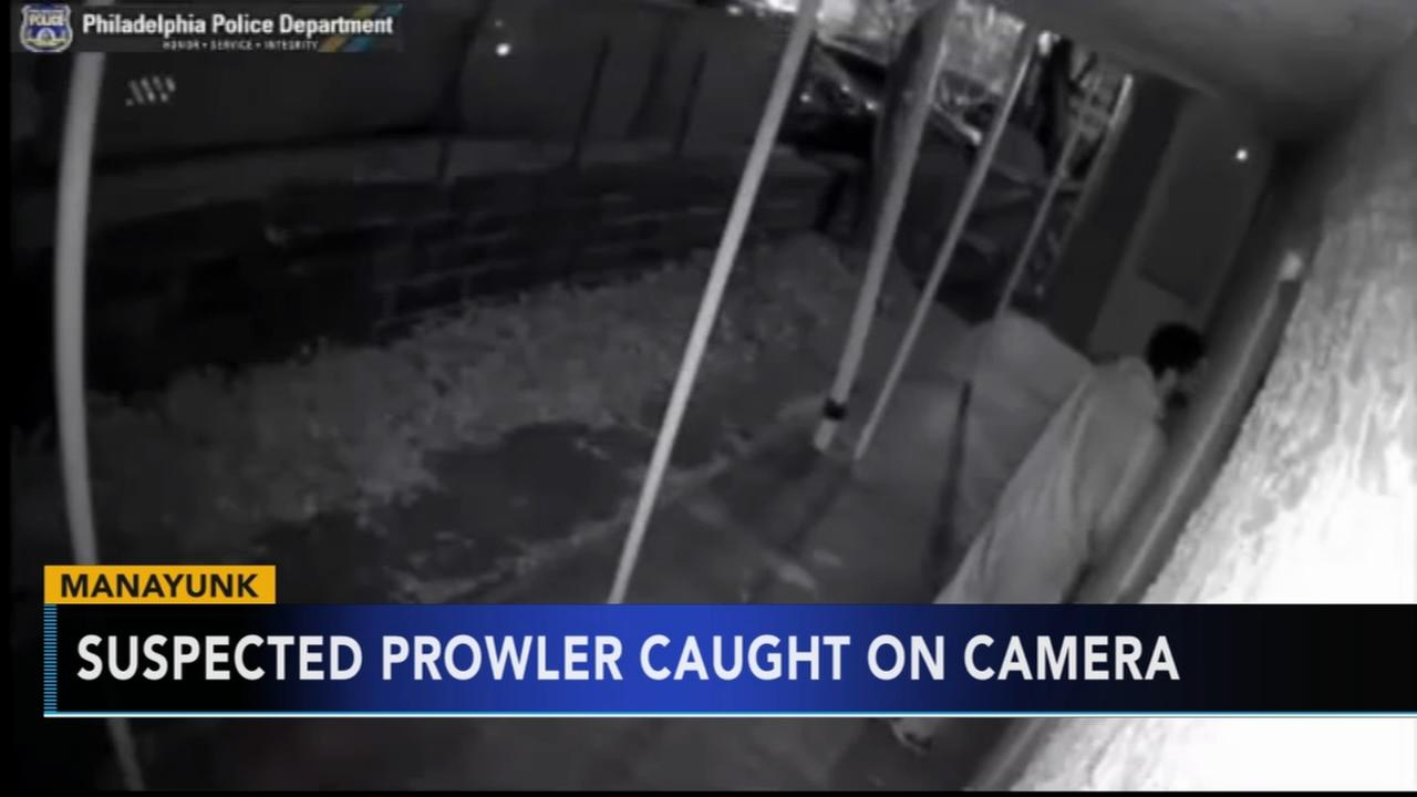 Suspected prowler in Manayunk caught on camera