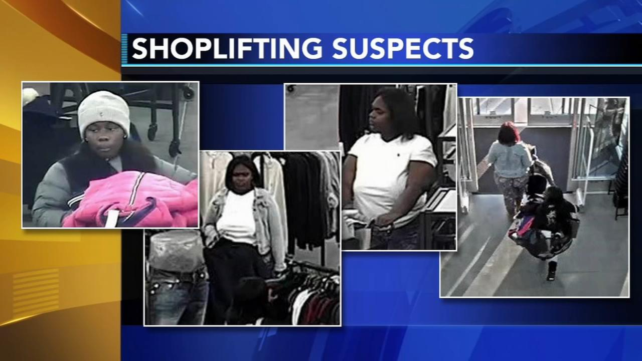 Suspects sought for shoplifting at Saks Off 5th in Delaware
