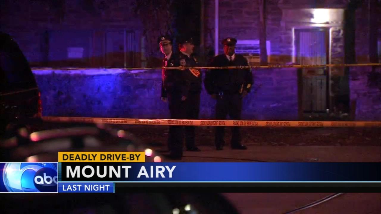 Deadly drive-by shooting in Mount Airy