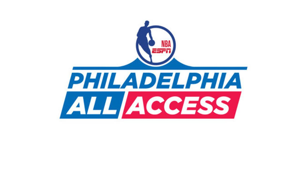 "76ers take over ESPN during ""Philadelphia All Access"" Friday"