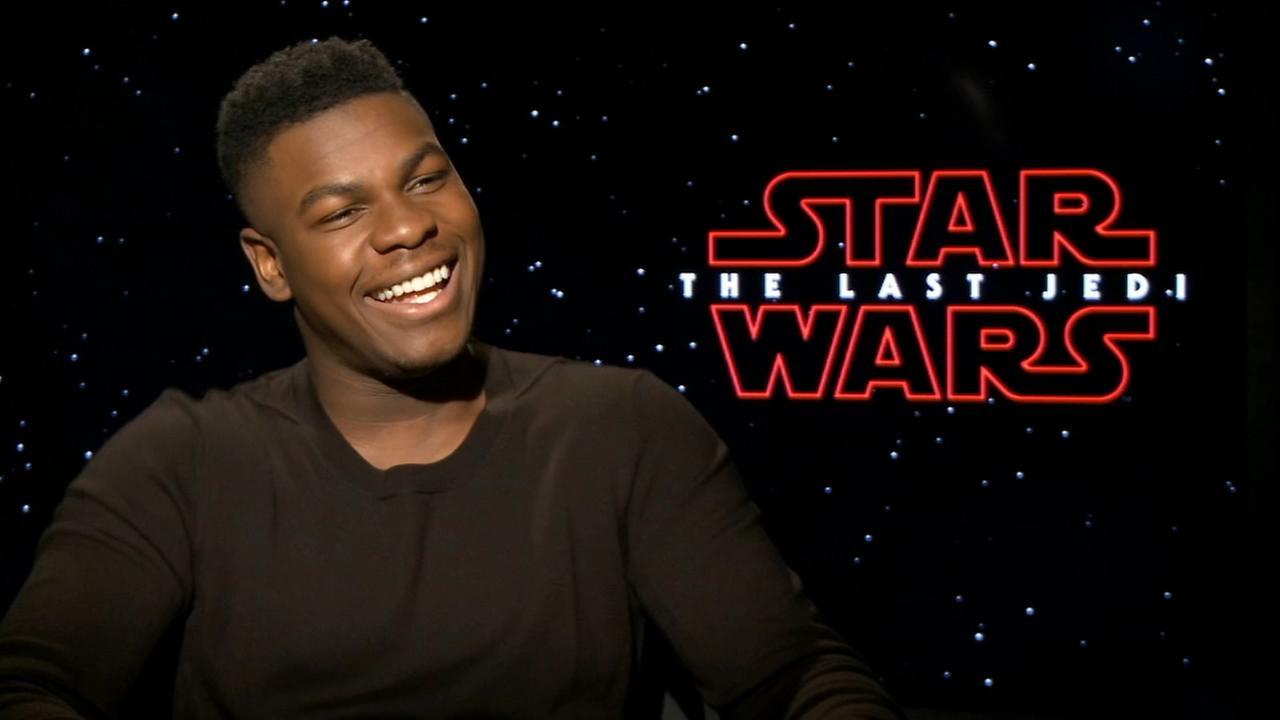 Sharrie Williams interviews Star Wars John Boyega