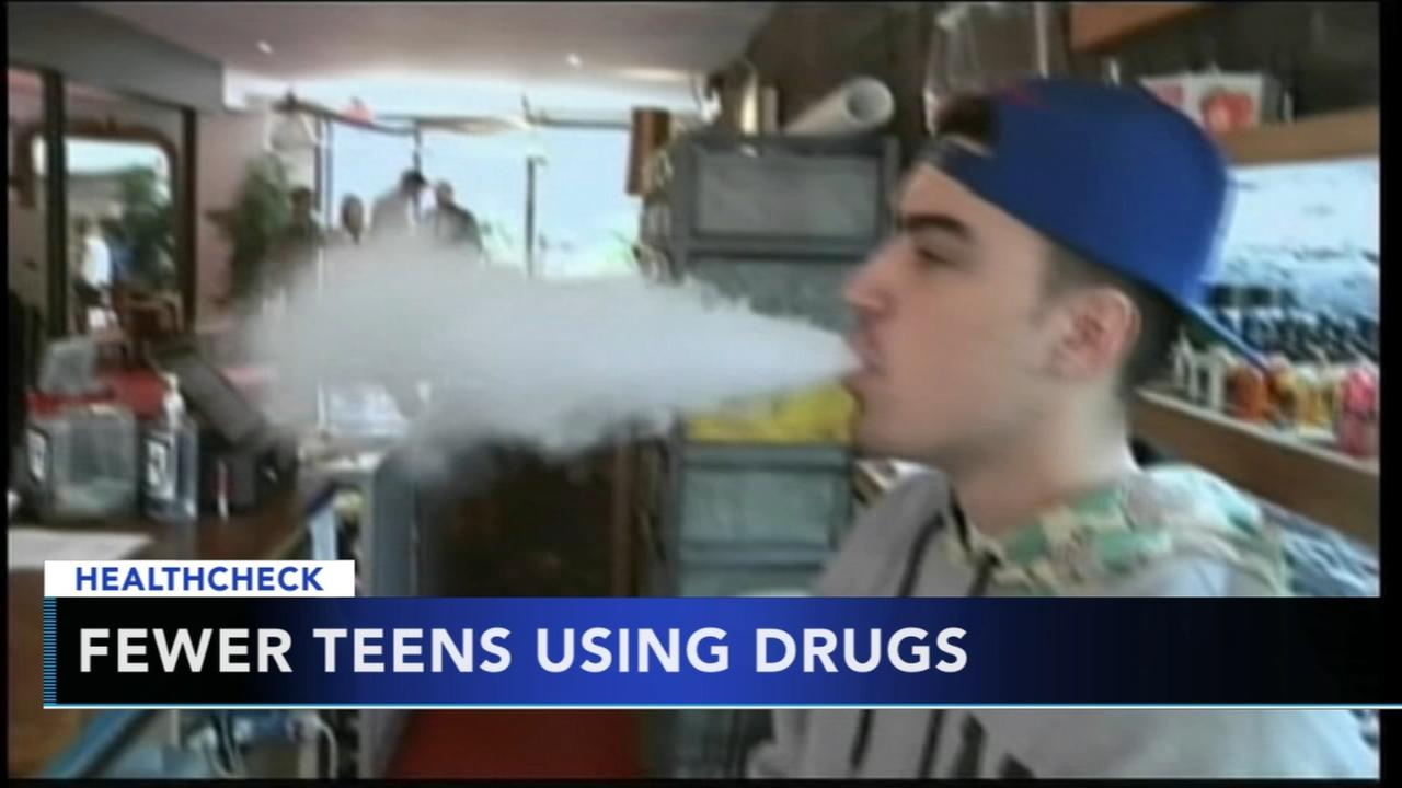 Healthcheck: Fewer teens using drugs