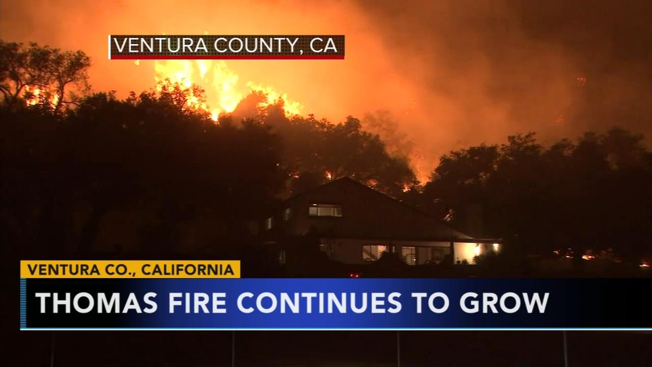 Army of firefighters takes on still-growing California fire