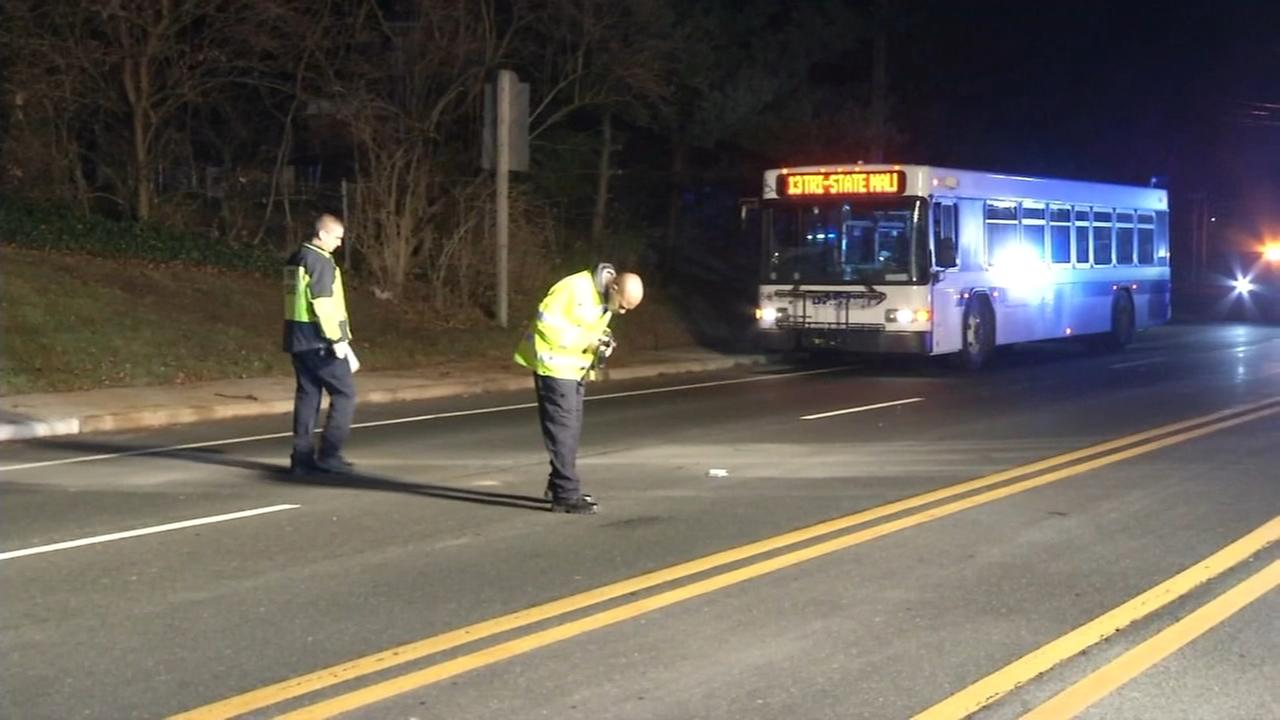 Man hit by car after stepping off DART bus in Delaware