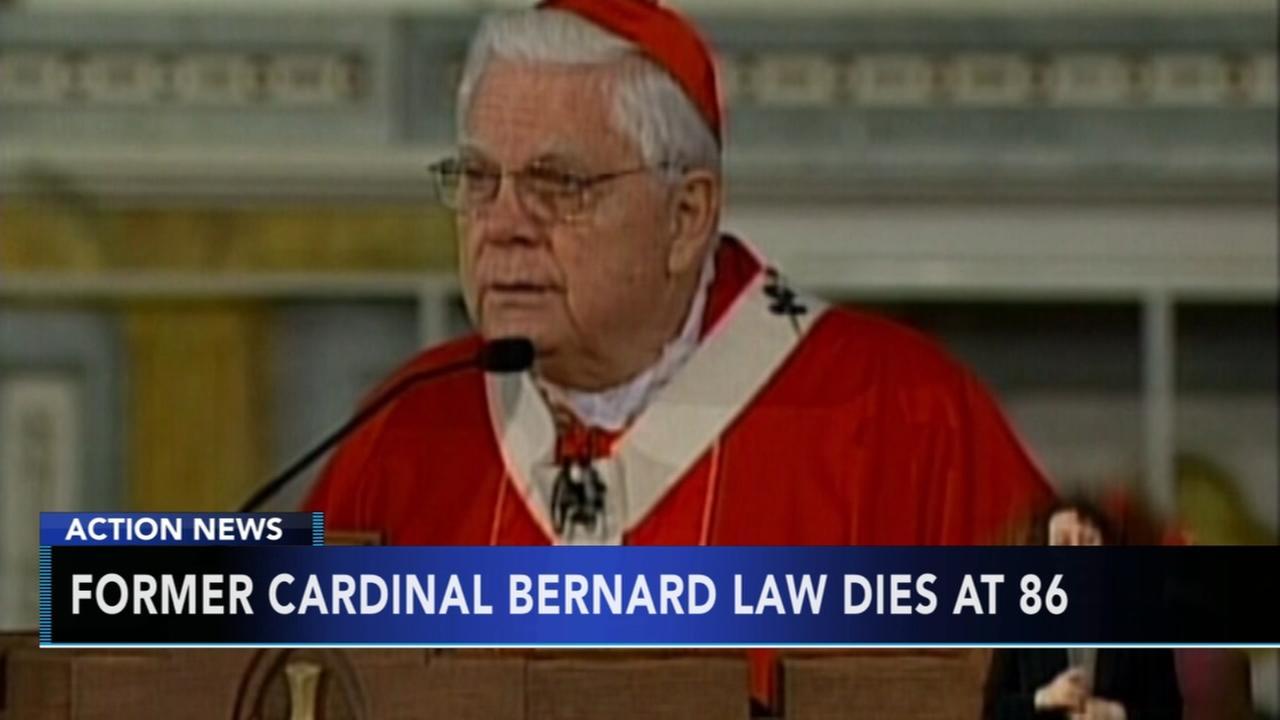 Former Cardinal Bernard Law dies at 86