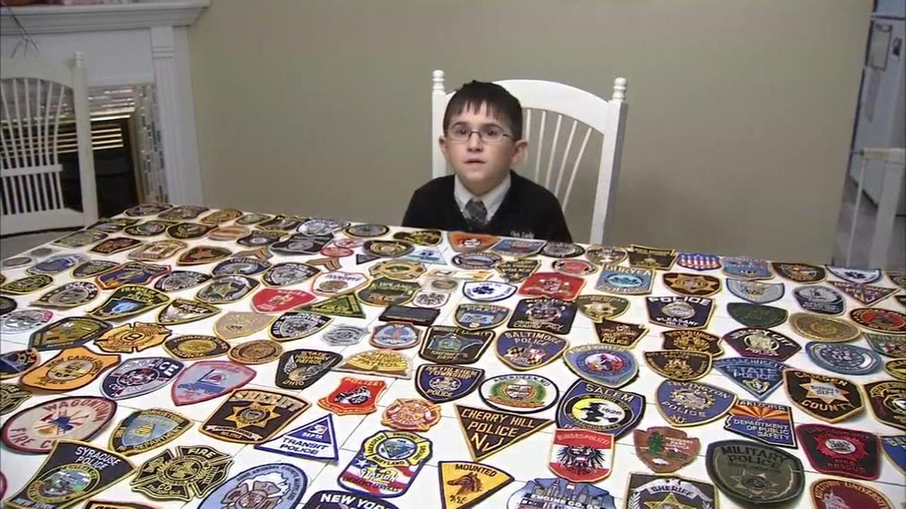 VIDEO: Boy starts patch promise to help kids with cancer