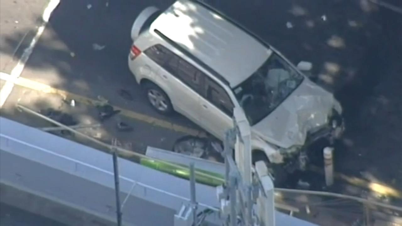 Car rams into pedestrians in Melbourne; 19 injured