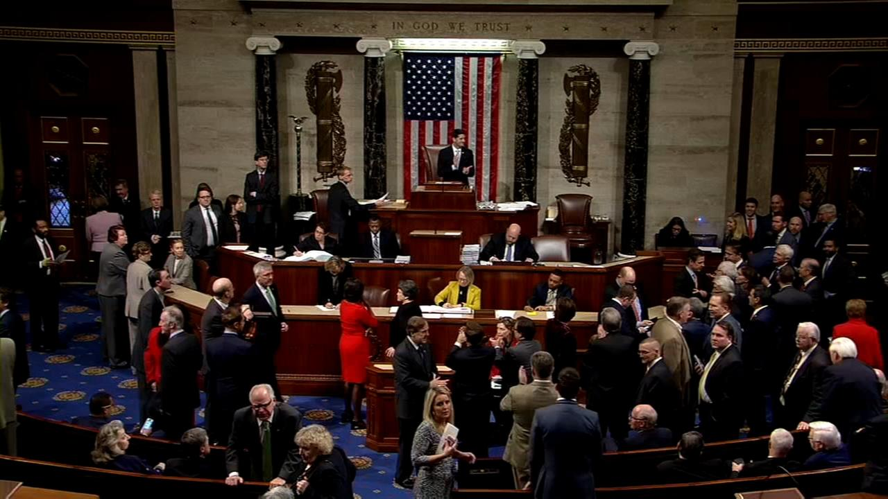 House GOP scrambles to rally votes for spending bill