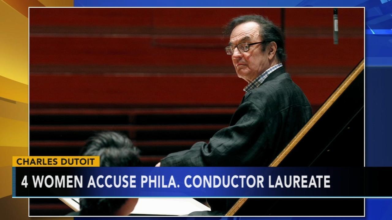 Four women accuse Philadelphia Orchestra Conductor Laureate