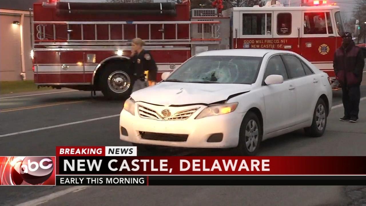 Pedestrian struck in New Castle