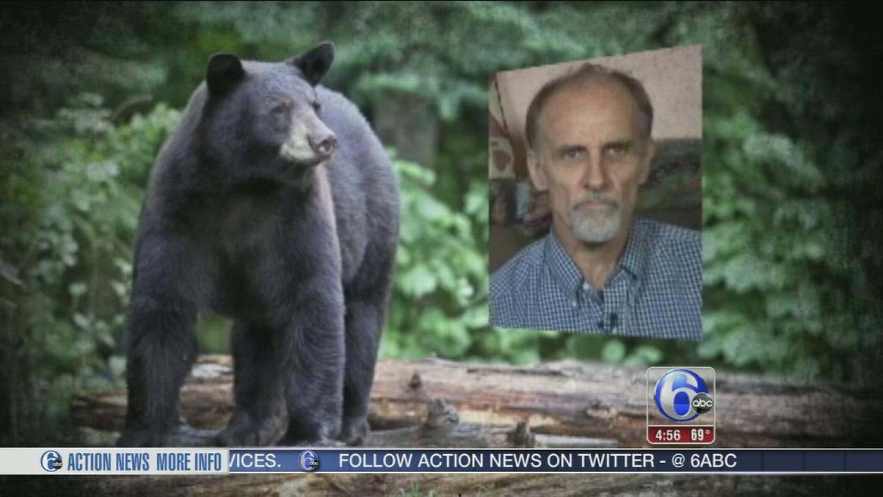 VIDEO: Black bear attacks man and his dog