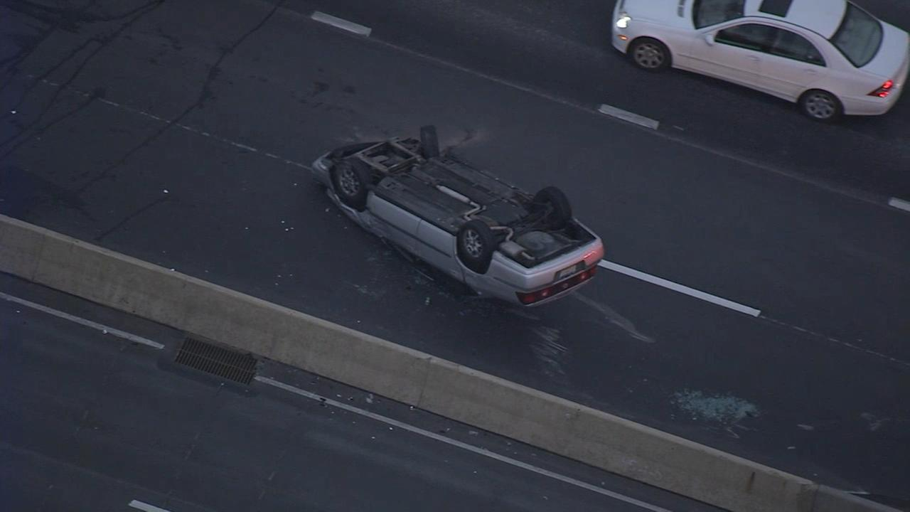 VIDEO: Crash on I-76 at Mall Blvd. in King of Prussia