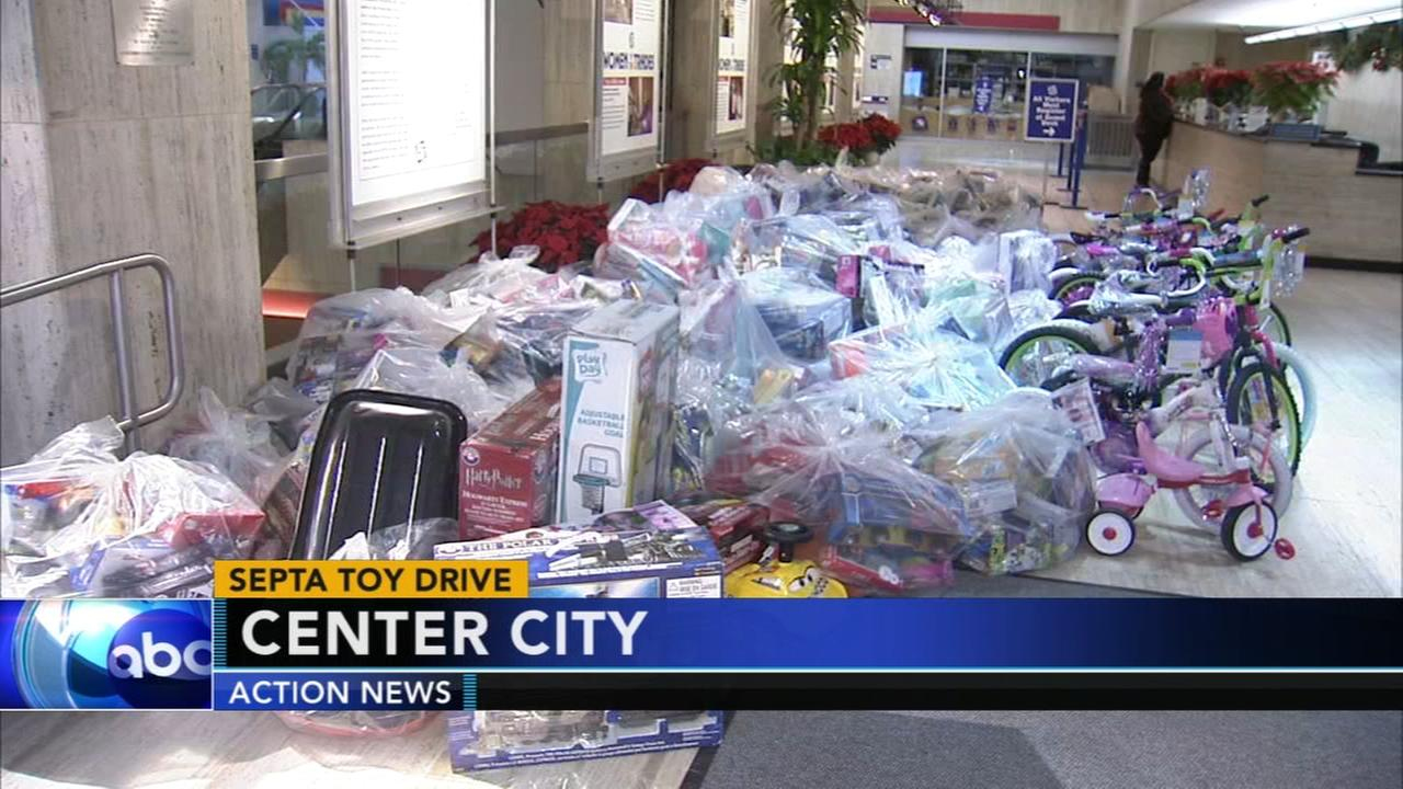 SEPTA holds their 37th Yuletoy Drive