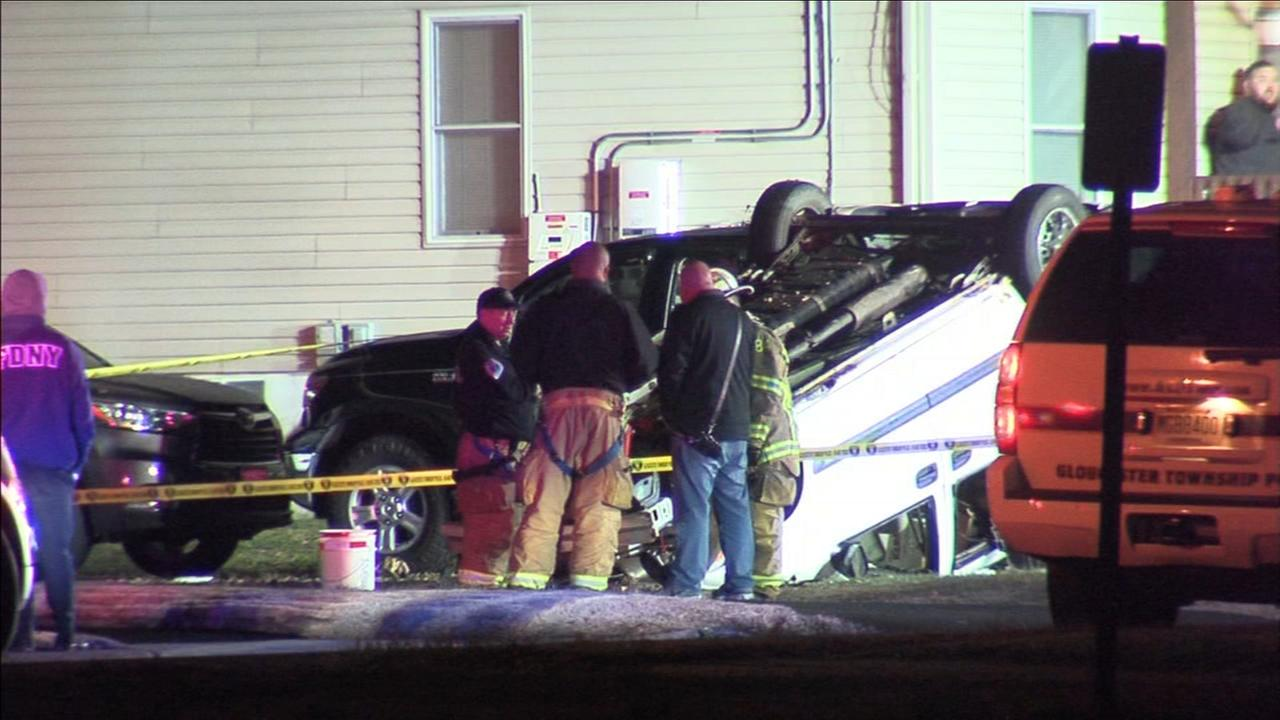 Driver ejected, killed in Gloucester Township crash