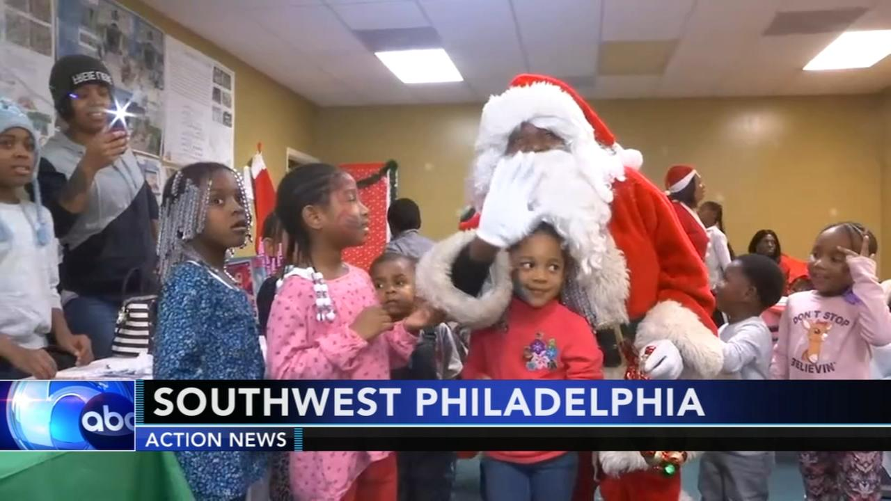 Community Claus spreads holiday cheer