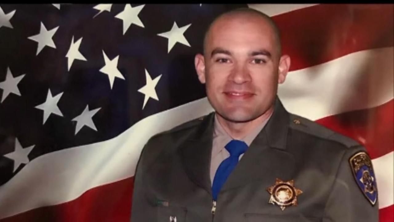 California officer killed as patrol car hit by drunk driver