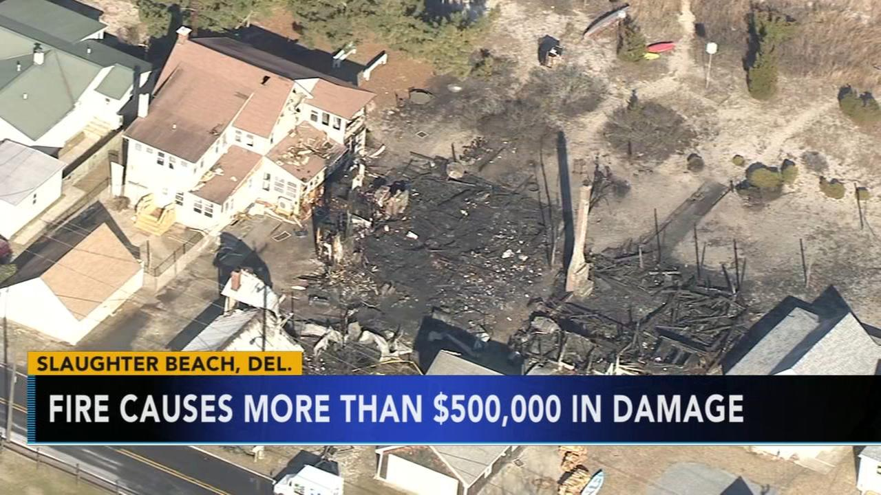Fire causes more than $500K in damage
