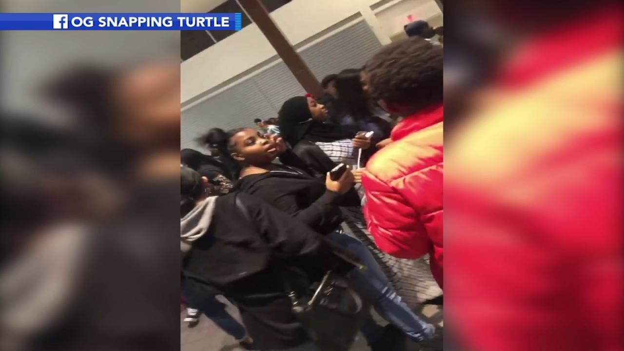 Five arrests after chaos at Cherry Hill Mall