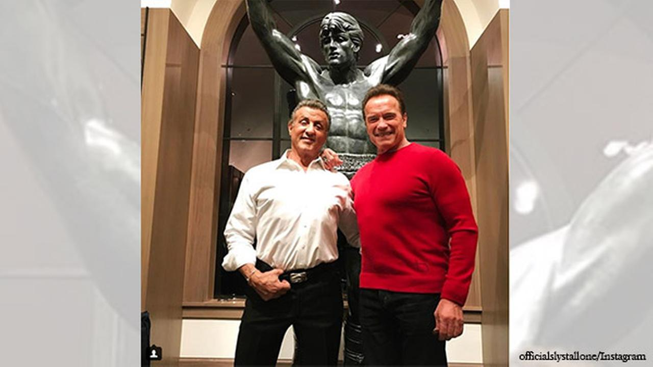 Sylvester Stallone buys replica Rocky statue
