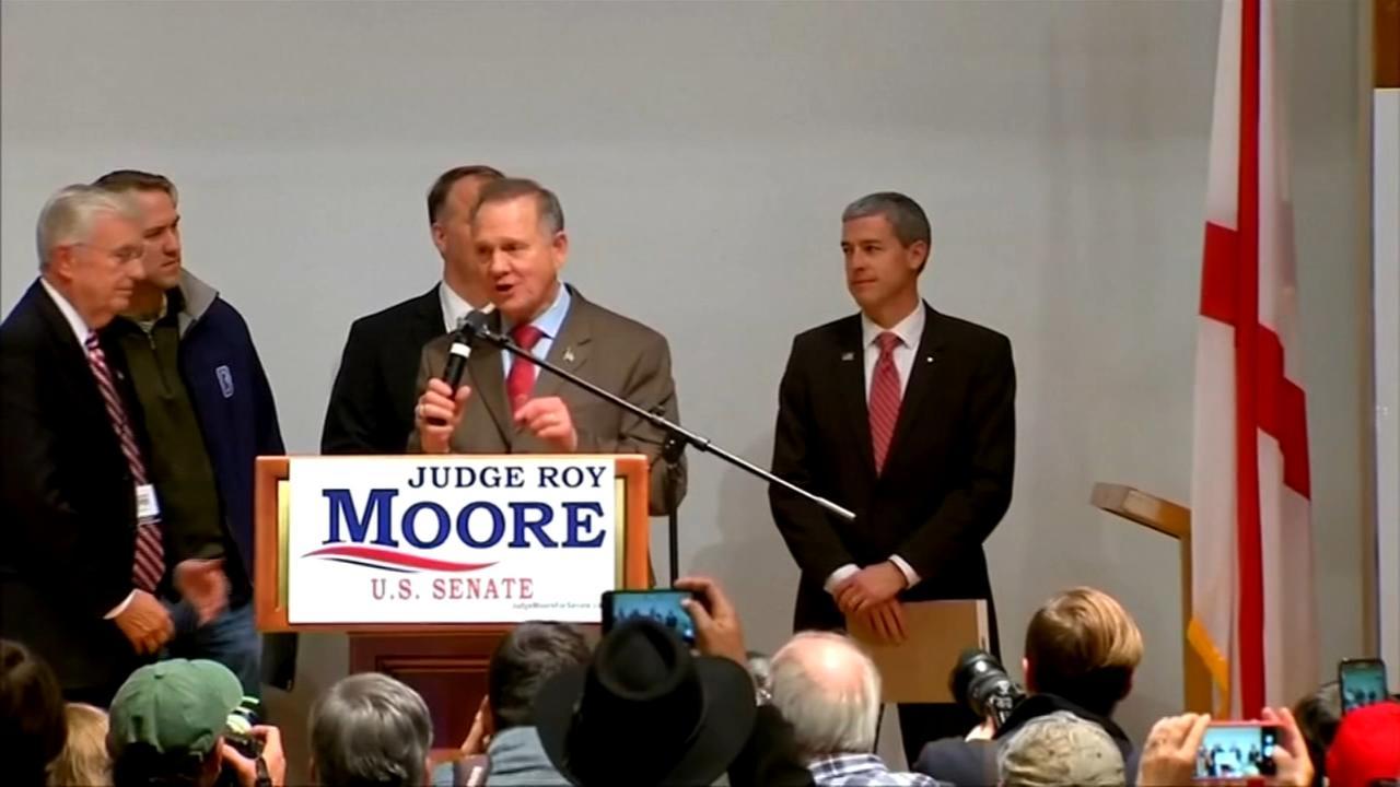 Roy Moore files lawsuit to block Alabama Senate result