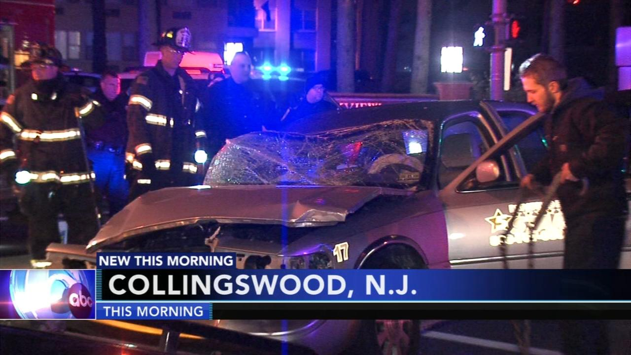 Taxi driver critical after losing control of vehicle in Collingswood