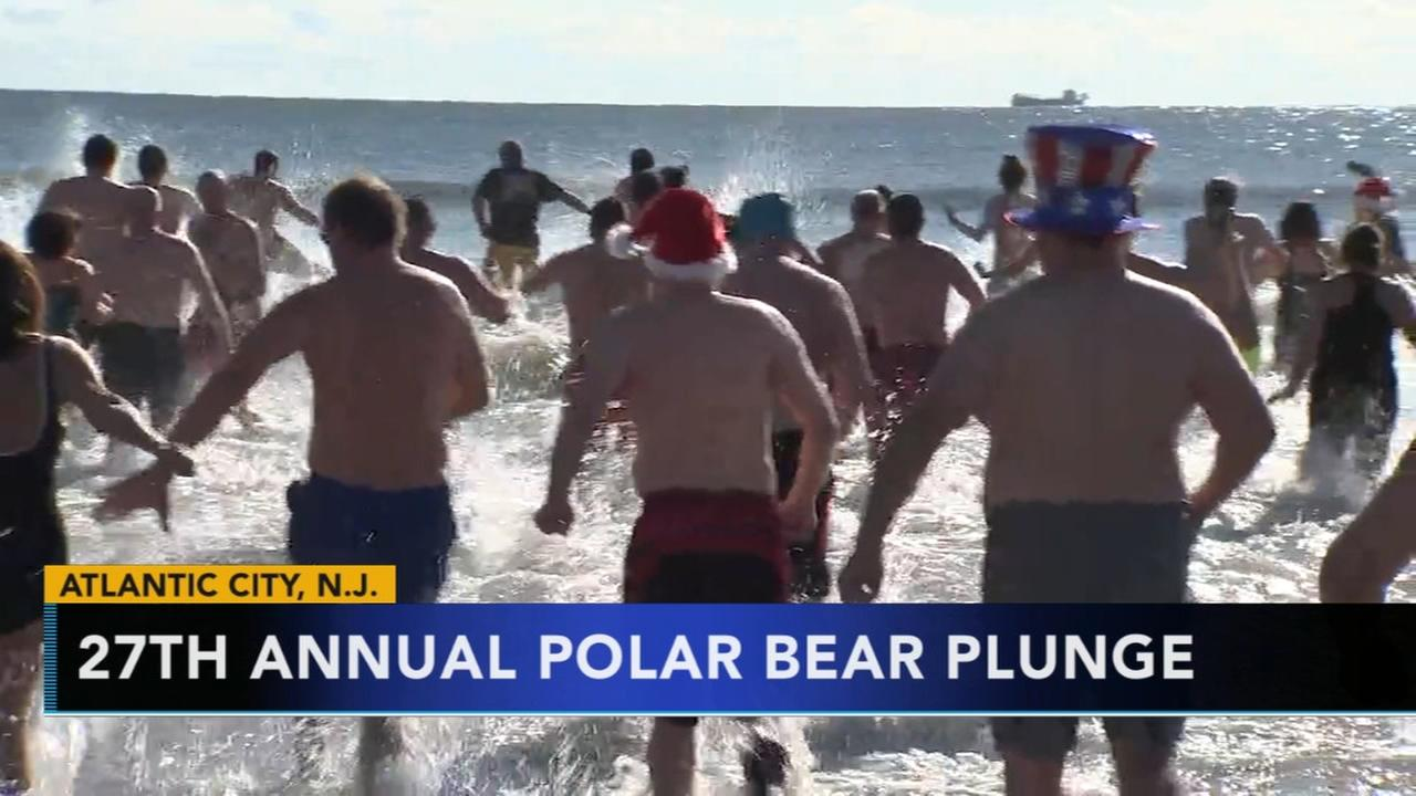 Atlantic City 27th Annual Polar Bear Plunge fundraiser