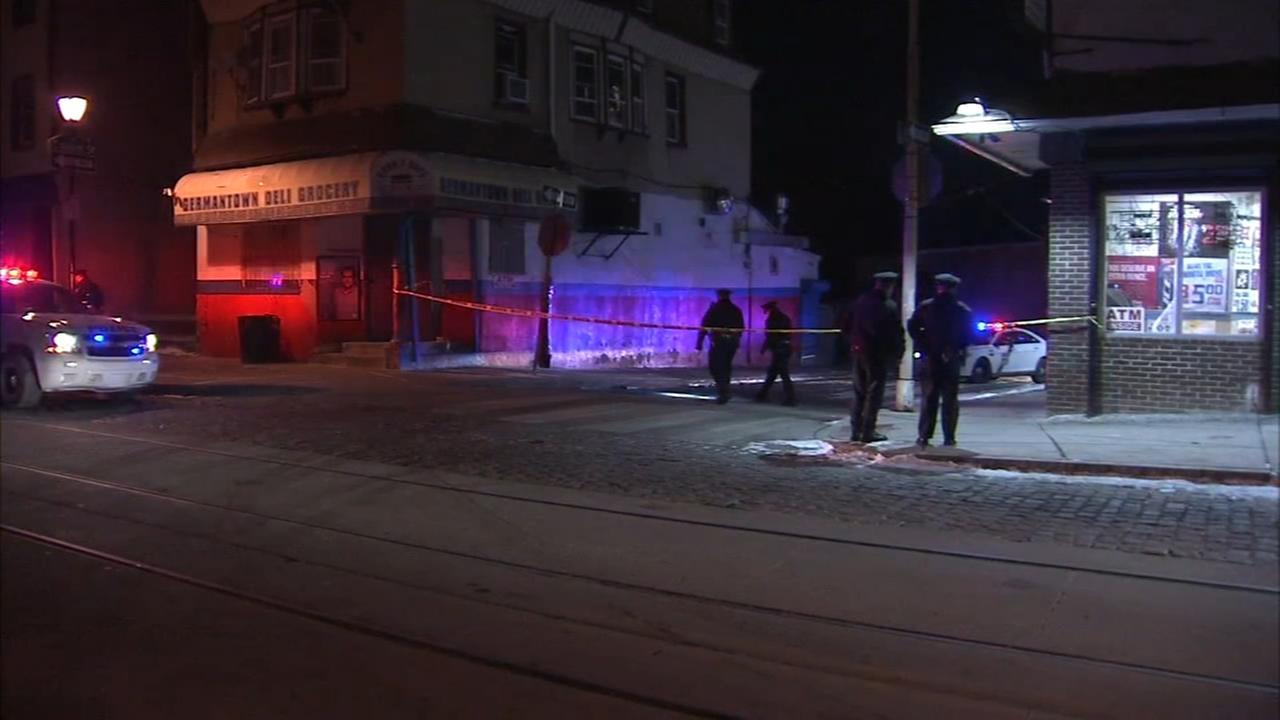 Man, woman shot in Germantown