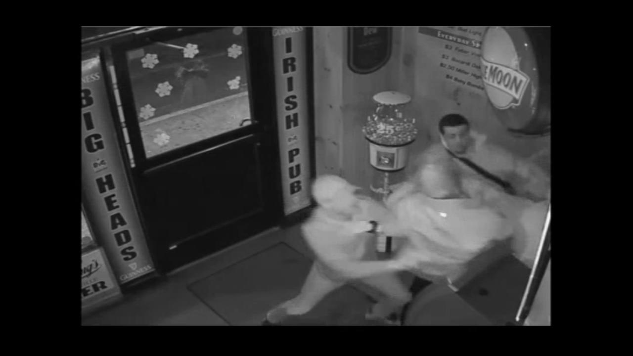 Surveillance Video: Assault at Bensalem bar