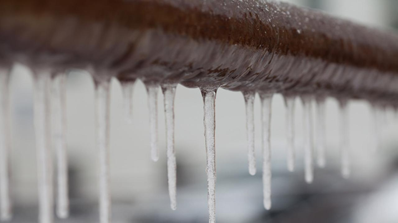 PWD tips for preventing frozen pipes