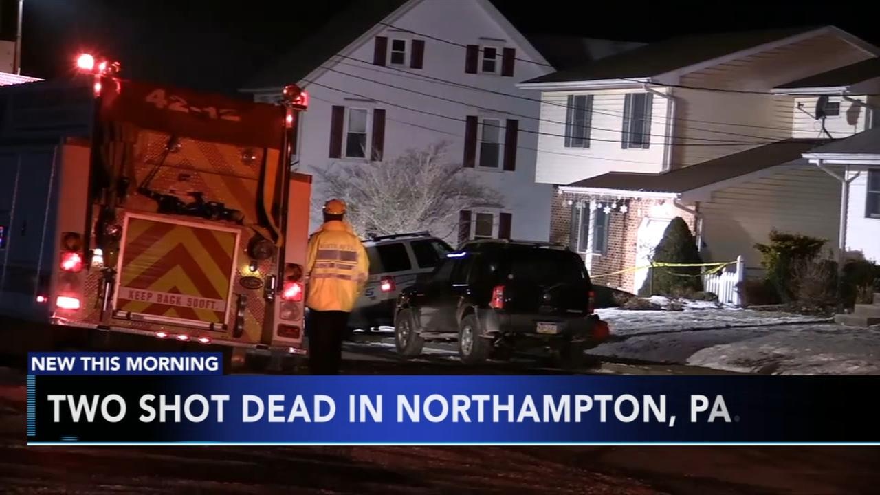 2 shot dead in Northampton, Pa.