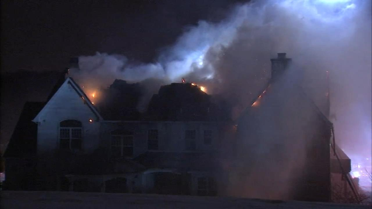 Action Cam Video: Fire in Whitemarsh Township