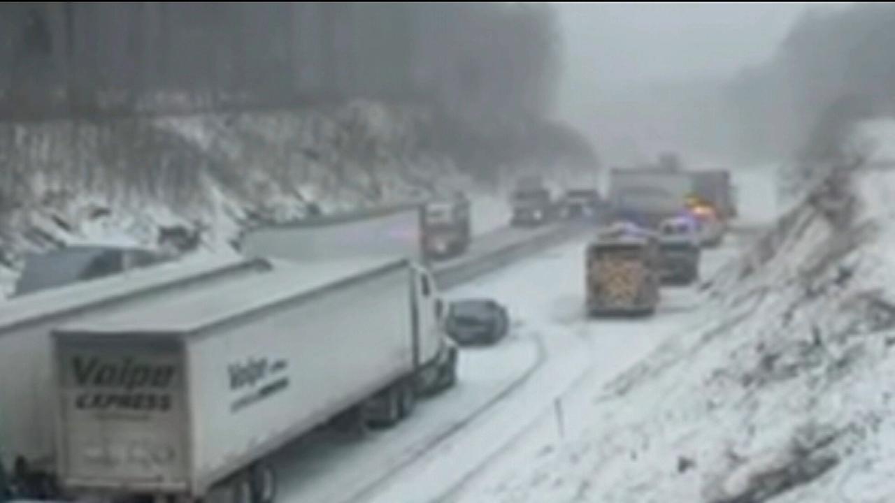 Crash shuts down Northeast Extension of Pa. Turnpike