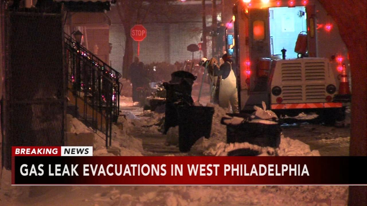 Residents in West Philadelphia without heat due to gas leak