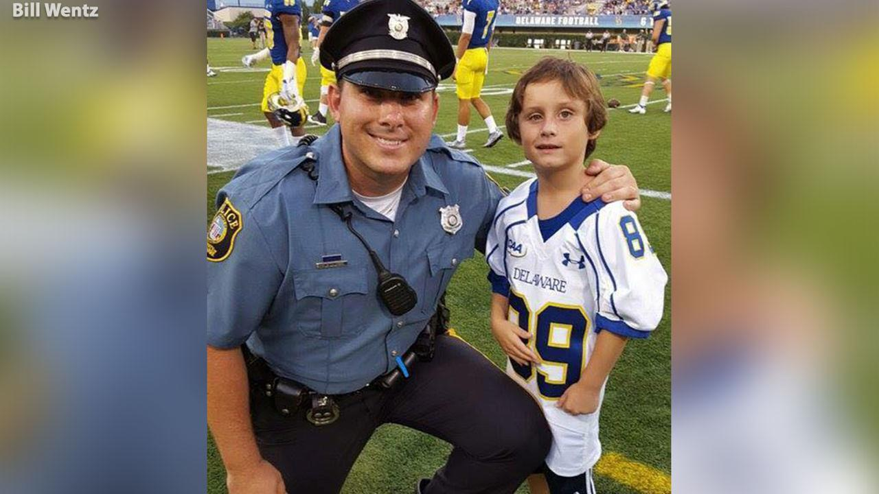 A law enforcement officer in Delaware is asking for the publics help in making a very special little boy smile.
