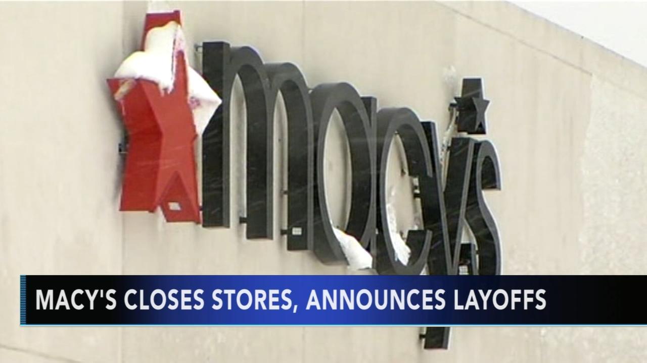 Macys announces more store closures, layoffs