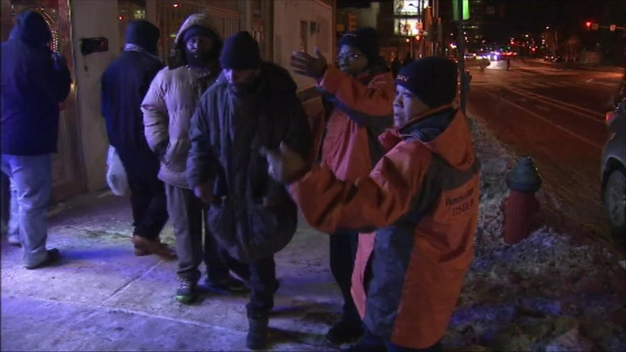 Folks cope with frigid temps in the Delaware Valley
