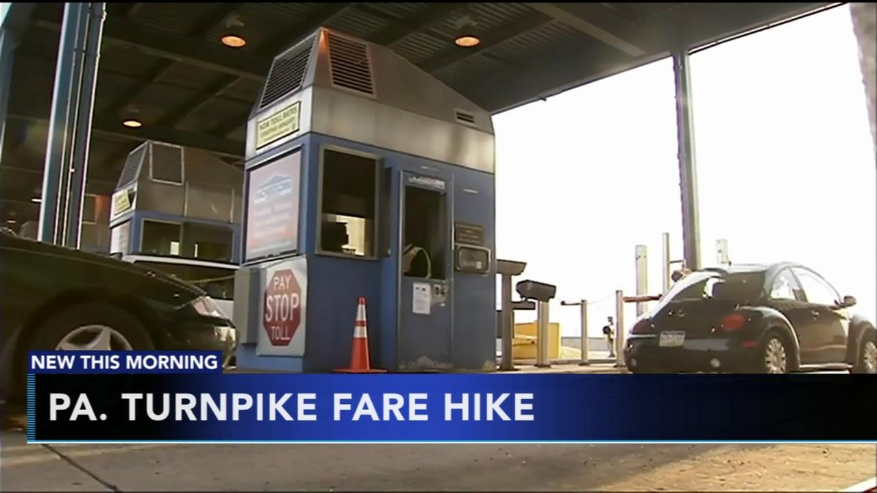 Fare hike on Pa. Turnpike